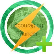 Encouraging Thunder Award!