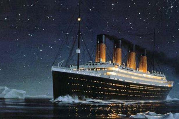 The Titanic BEFORE theTitanic