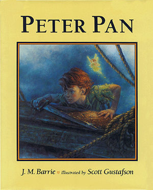Peter Pan, disney, j.m. barrie, jonathan l. ferrara, aaron ferrara, husband and husband, davies, literature, classic literature, books, book, authors, gay bloggers, entertainment, book review, book reviews