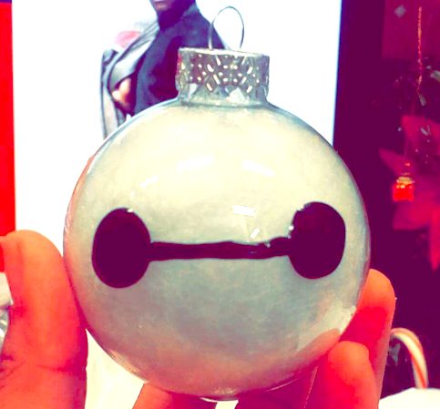 How to Make Your Own Baymax Ornament
